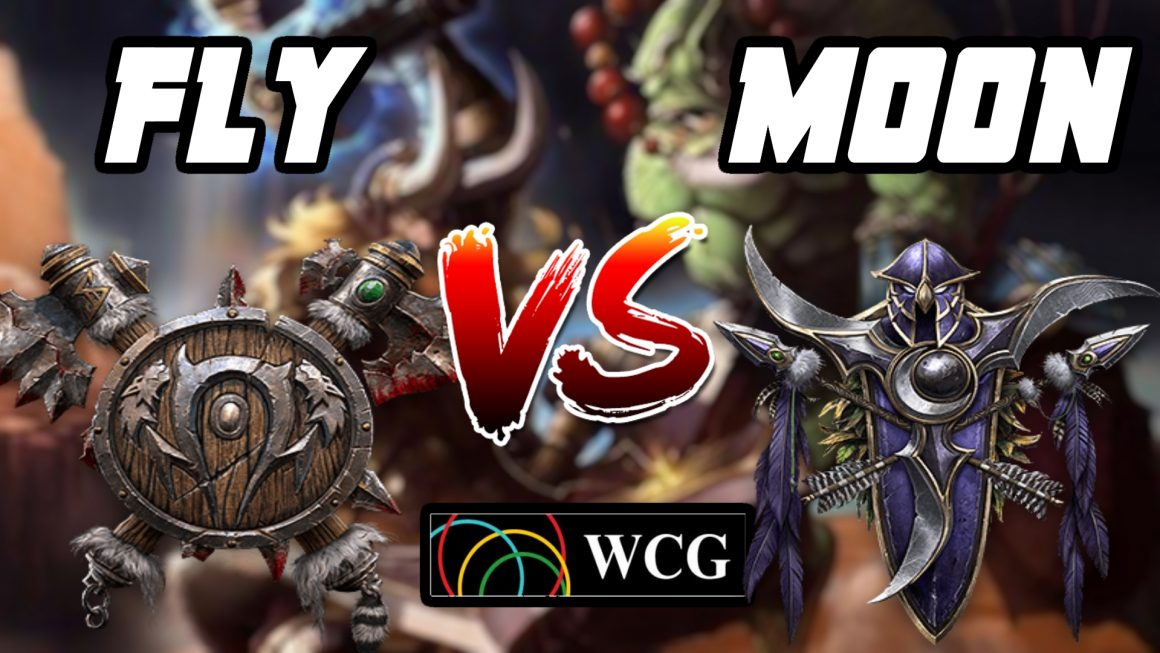 Warcraft 3 Replay: Moon vs. Fly100% na WCG 2007