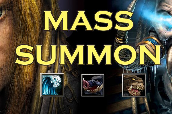 Pensando fora da caixa em Warcraft 3 – Mass Summon! (HU vs. UD)