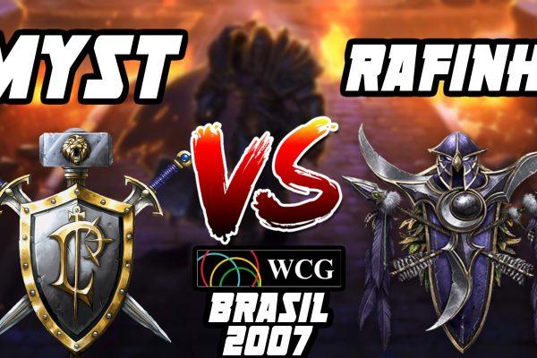 Warcraft 3 Replay: MysT vs. Rafinha na WCG Brasil 2007