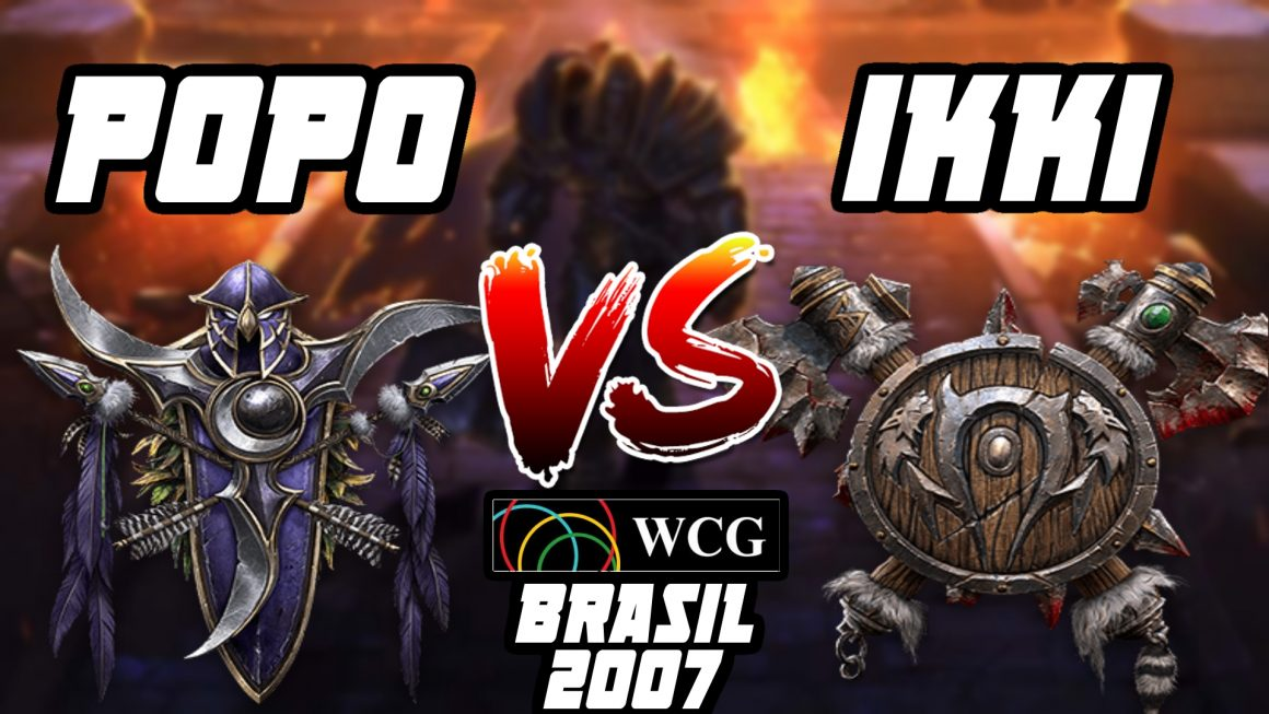 Warcraft 3 Replay: Ikki vs. Popo na WCG Brasil 2007