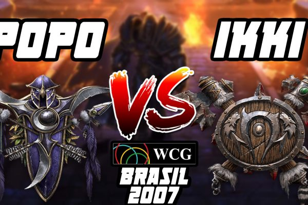 Warcraft 3 Replay: Ikki vs. Popo na WCG Brasil 2007