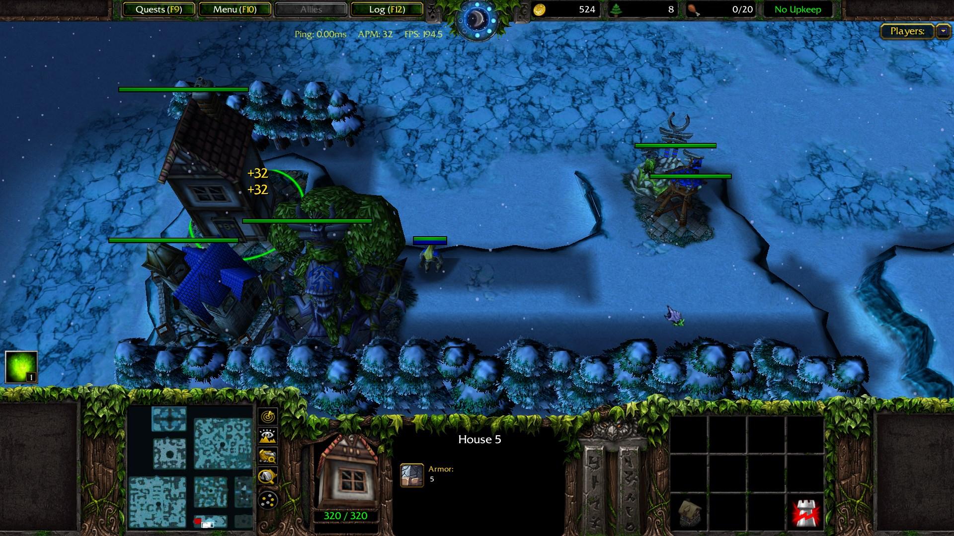 Warcraft 3 Troll & Elves
