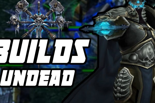 Builds básicas de Undead (mortos-vivos) em Warcraft 3