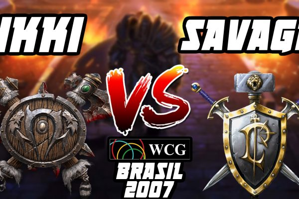 Warcraft 3 Replay: Ikki vs. Savage na WCG Brasil 2007