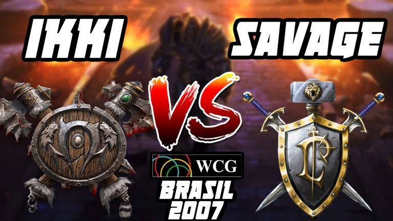 Warcraft 3 Ikki vs Savage WCG Brasil 2007