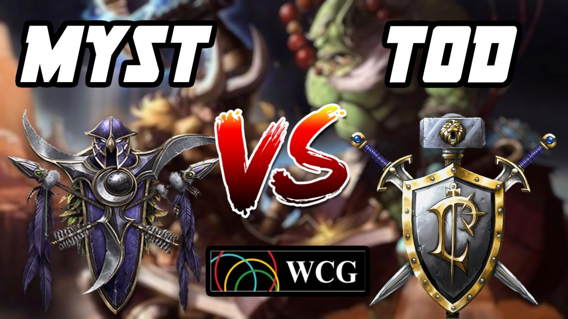 Warcraft 3 Replay: ToD vs. MysT na WCG 2007
