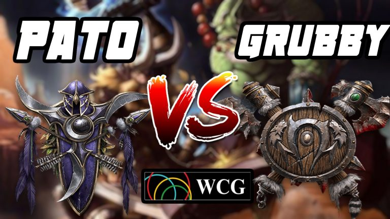 Warcraft 3 pato grubby wcg