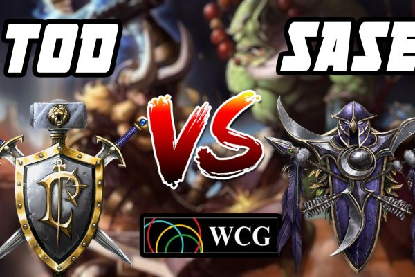 Warcraft 3 Replay: ToD vs. SaSe na WCG 2007