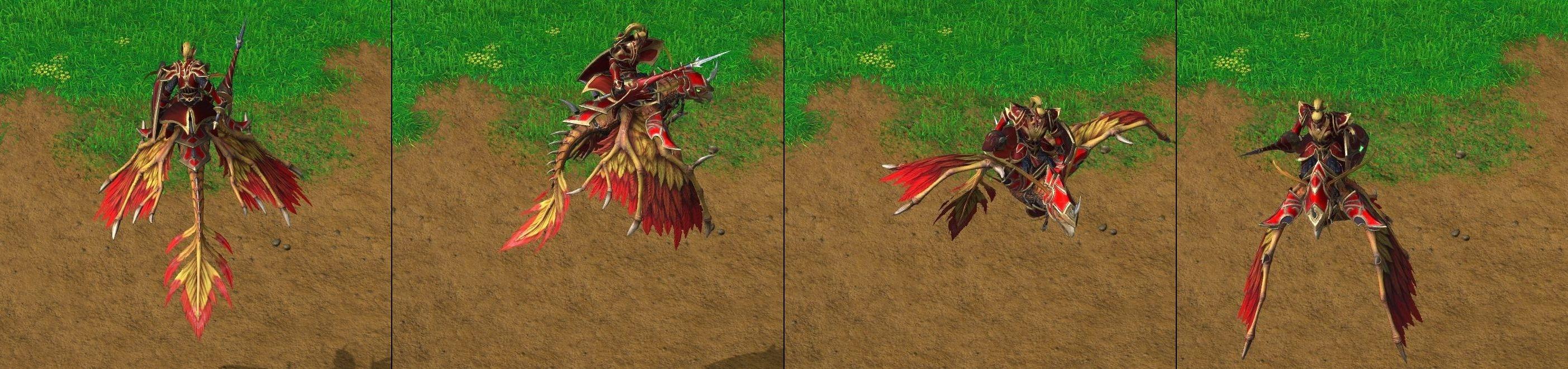 Warcraft 3 Reforged Dragonhawk Rider
