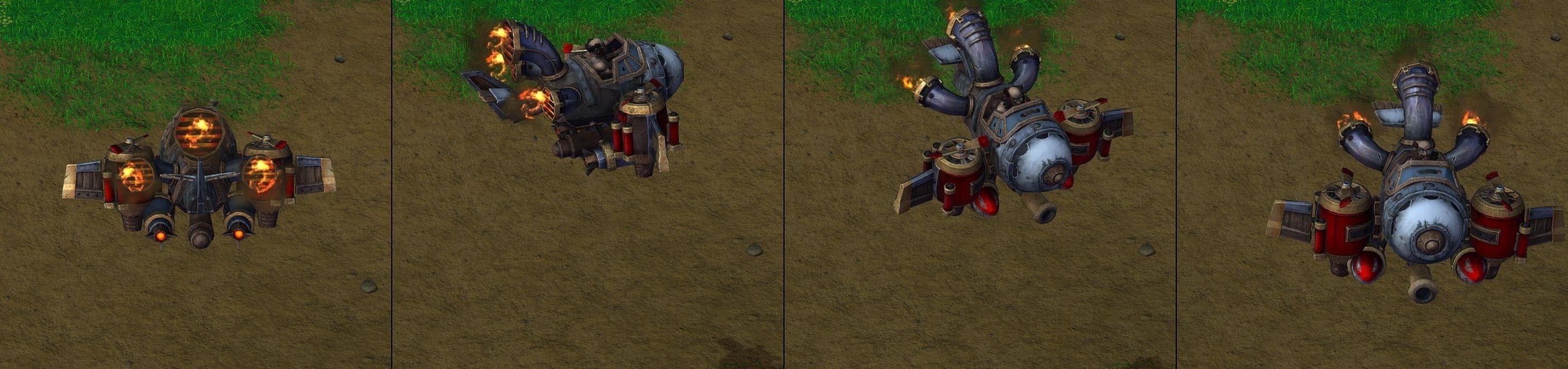 Warcraft 3 Reforged Flying Machine
