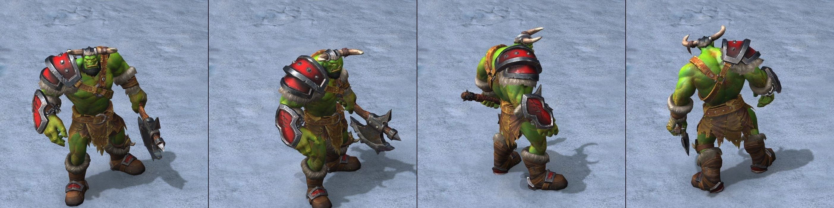 Warcraft 3 Reforged Grunt orc