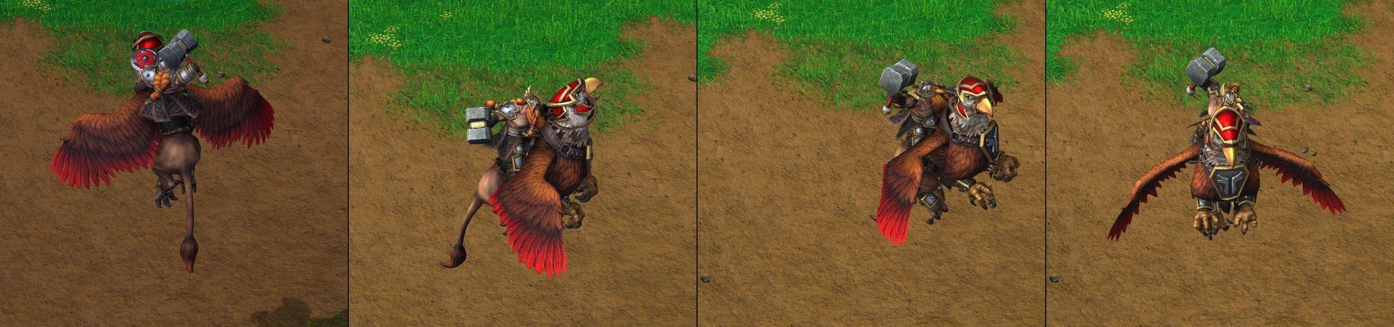 Warcraft 3 Reforged Gryphon Rider
