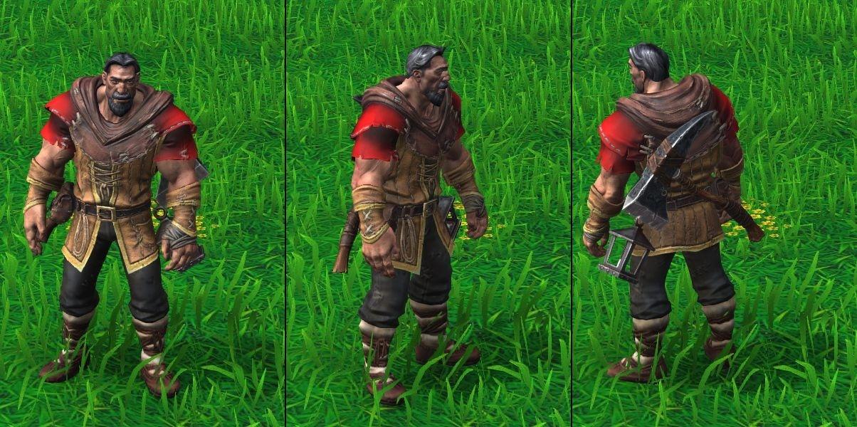 Warcraft 3 Reforged Human Peon