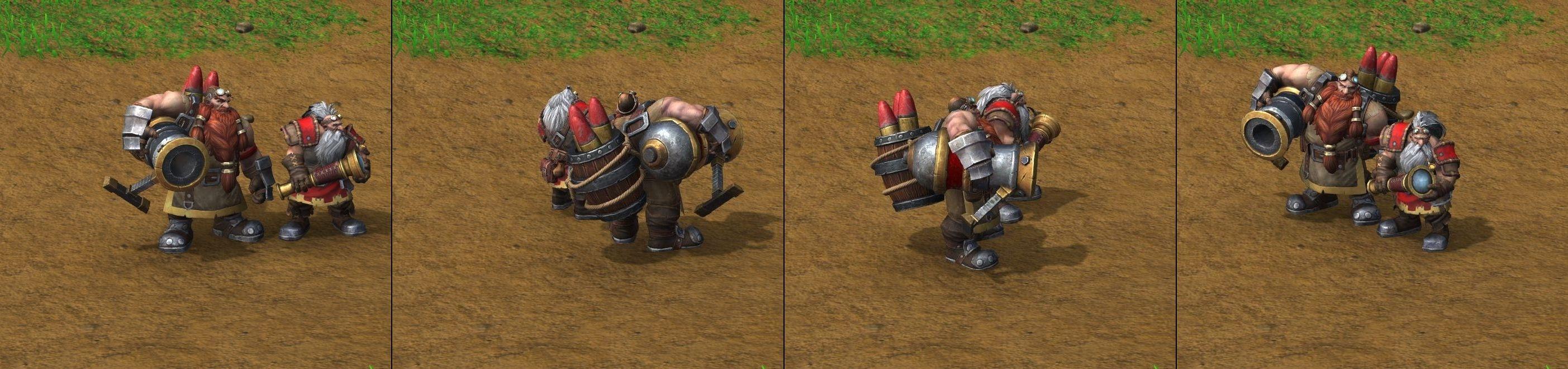 Warcraft 3 Reforged Mortar Team