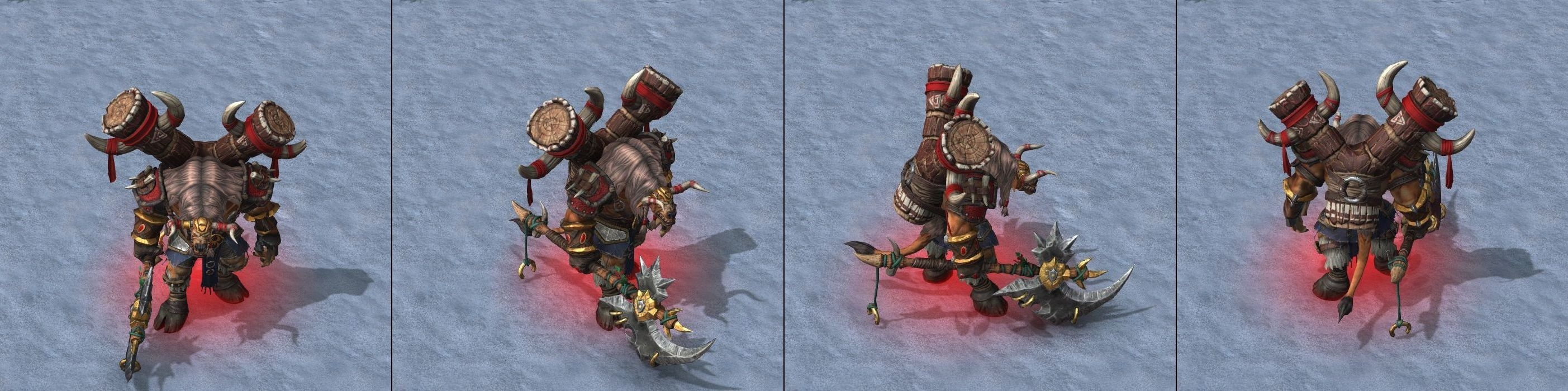 Warcraft 3 Reforged Tauren Chieftain
