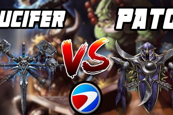 Warcraft 3 Replay: PaTo vs. Lucifer na ESWC 2007