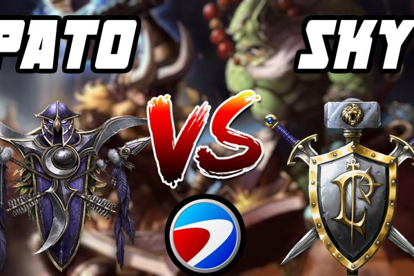 Warcraft 3 Replay: PaTo vs. Sky na ESWC 2006