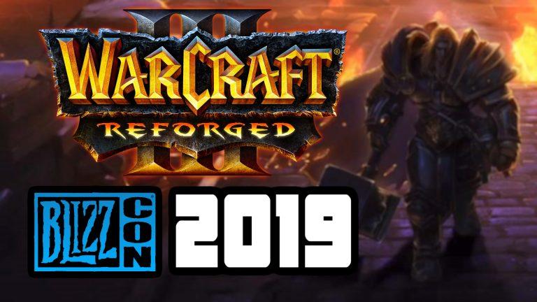 Warcraft 3 Reforged BlizzCon 2019