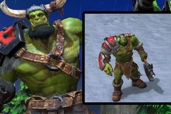 Warcraft 3 Reforged: Modelos de heróis e unidades orcs revelados pelo datamining do Beta