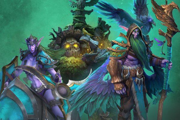 Warcraft 3 Reforged: Falas dos Elfos Noturnos em português (PT-BR)
