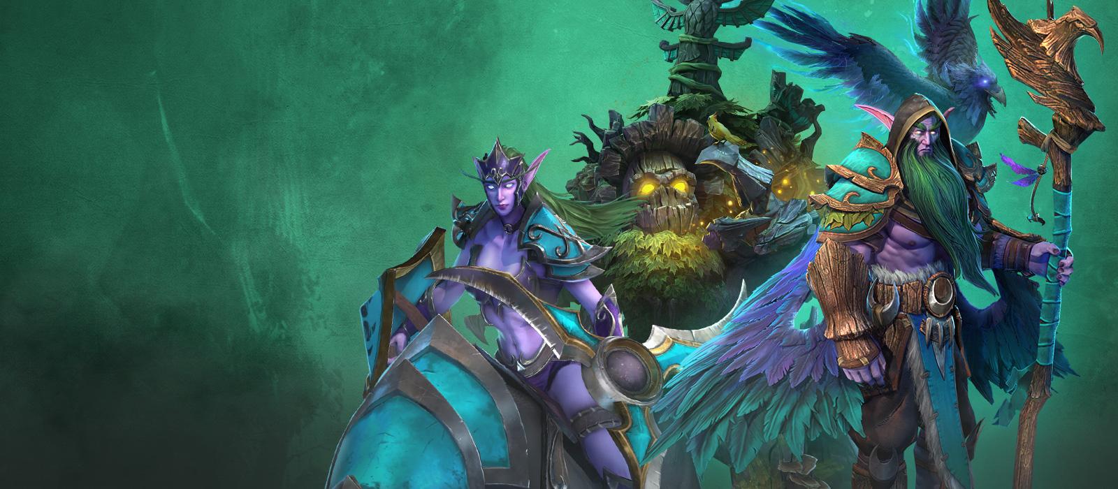 Warcraft 3 Reforged Elfos Noturnos