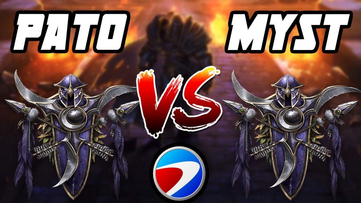 Warcraft 3 Replay: PaTo vs. MysT na ESWC Brasil 2005