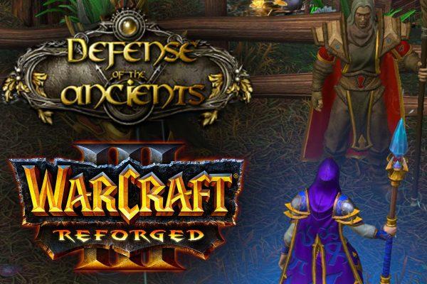 Veja como está o gameplay de DotA em Warcraft 3 Reforged
