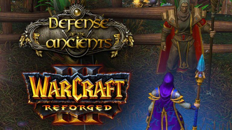 WARCRAFT 3 REFORGED DOTA