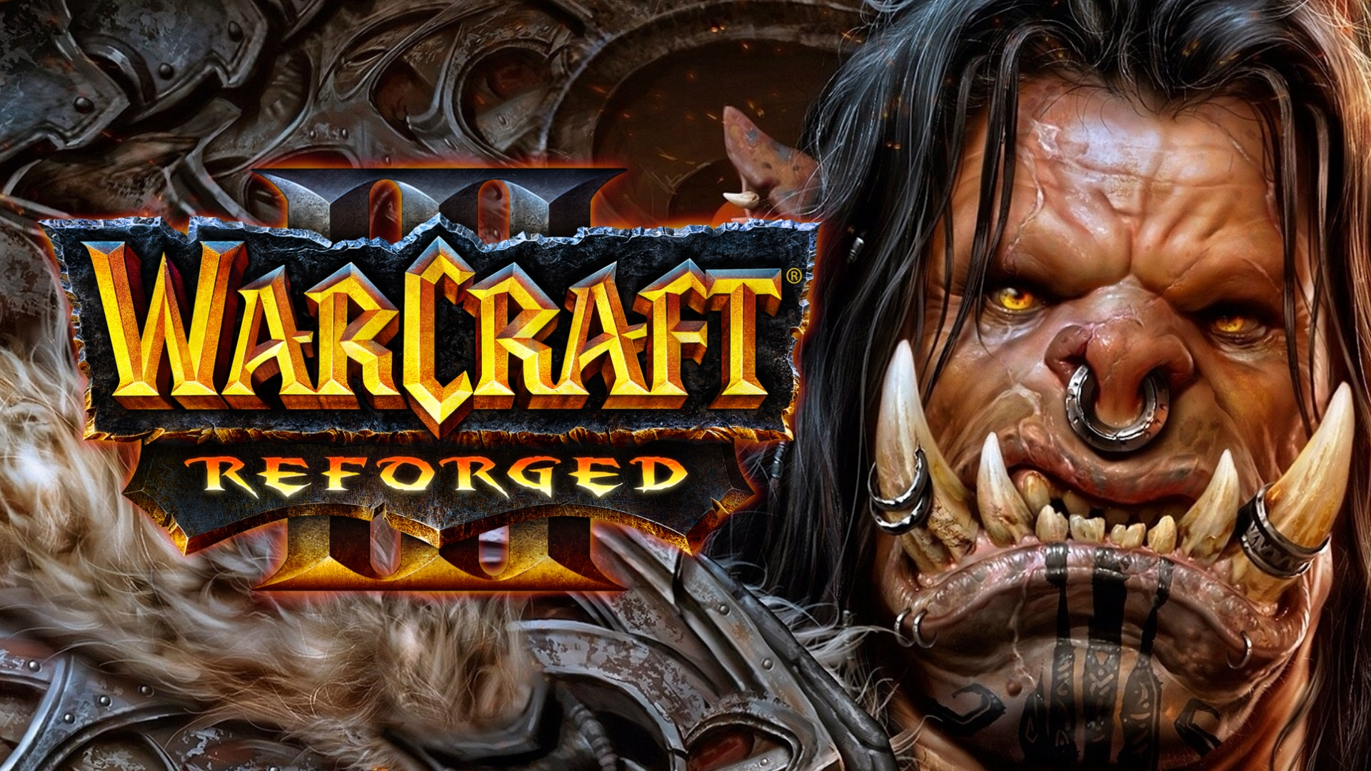WARCRAFT 3 REFORGED ORCS GROMMASH