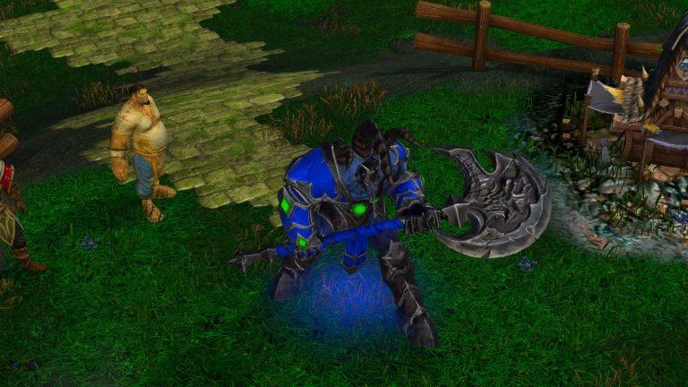 DotA 1 Sven Warcraft 3 Reforged