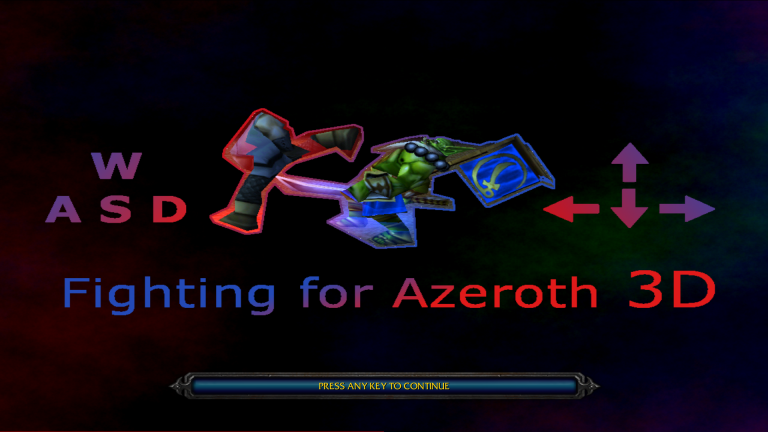Warcraft 3 Fighting for Azeroth