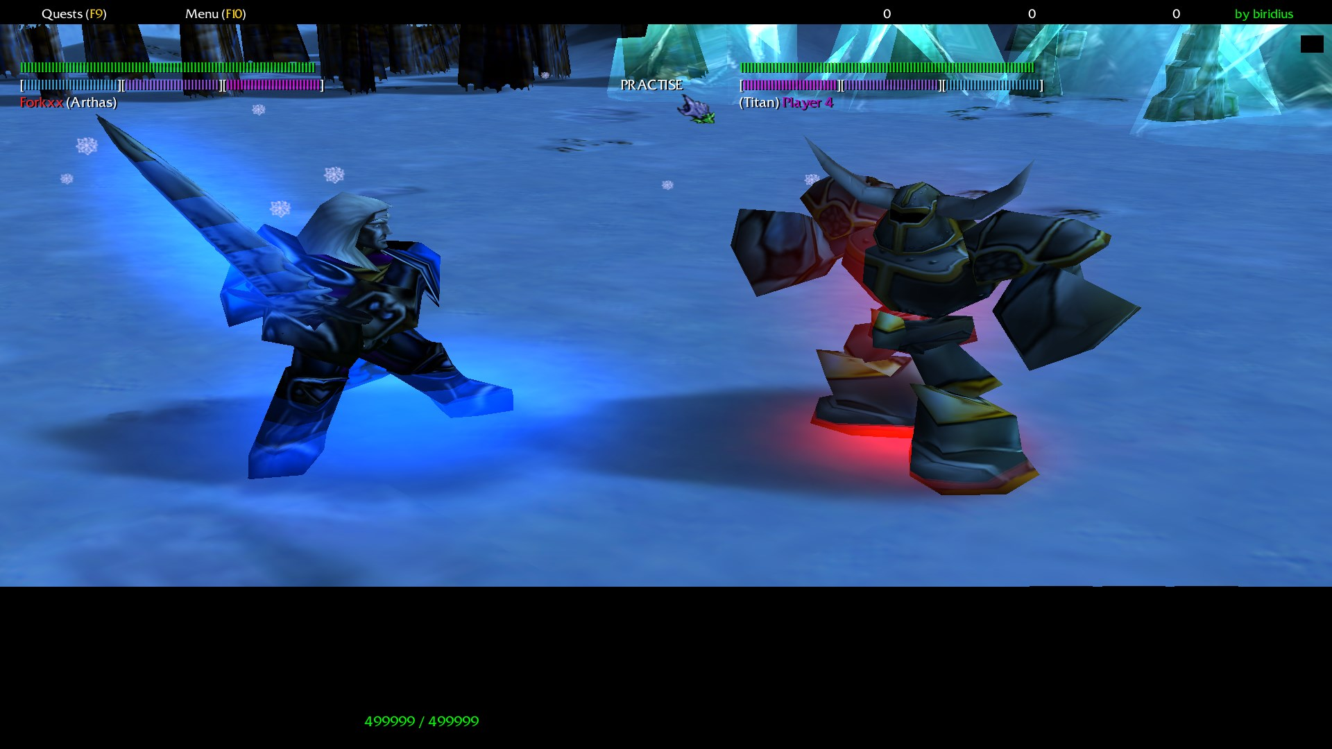Warcraft 3 Fighting for Azeroth screen