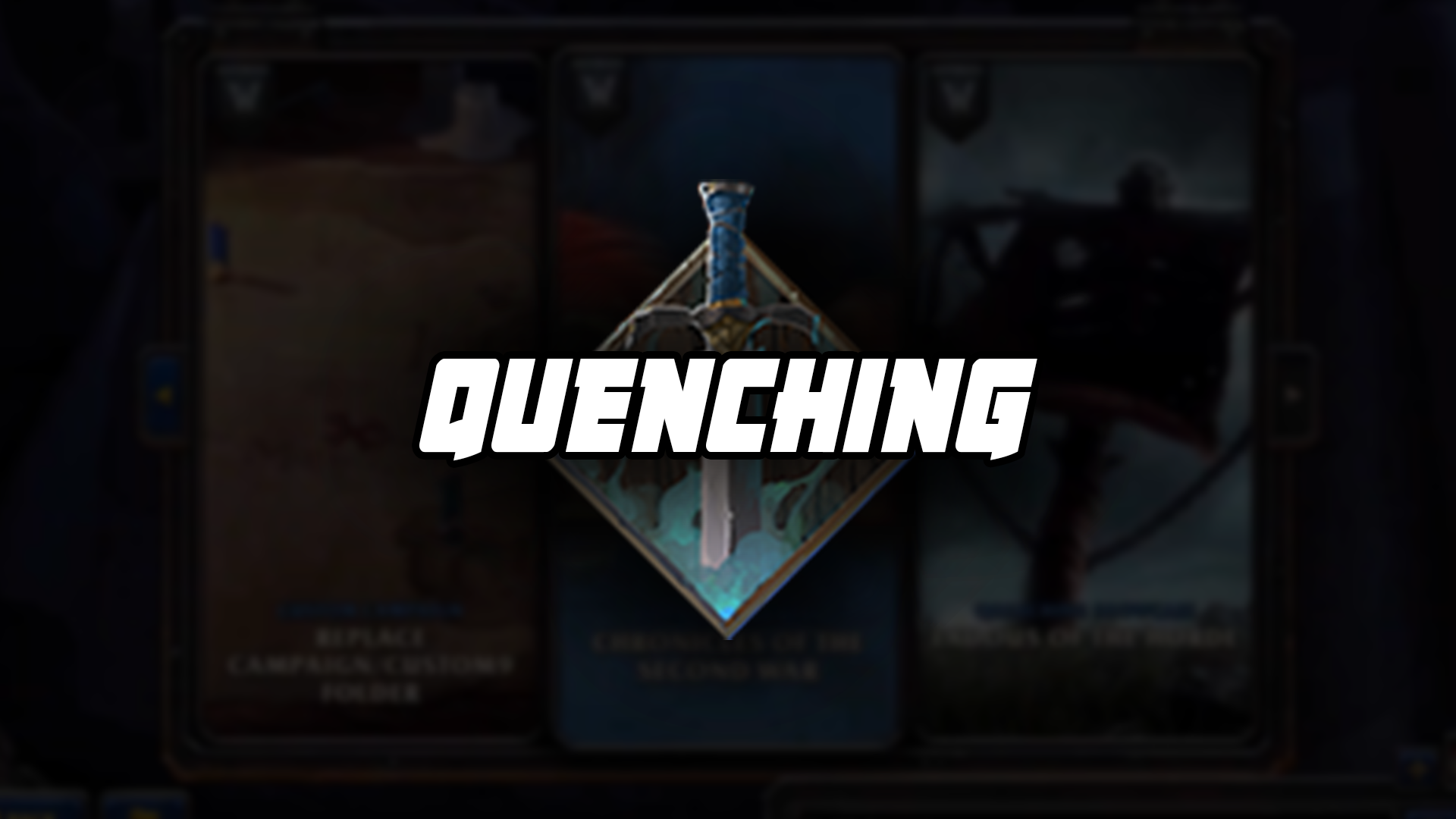 Warcraft 3 Reforged Quenching Mod