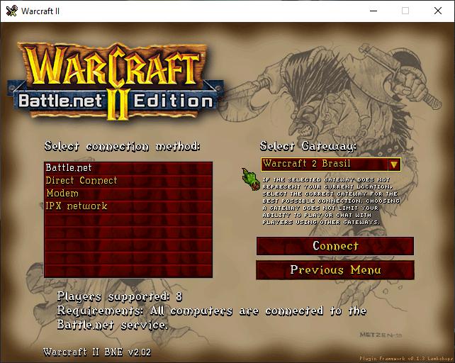 Warcraft 3 servidor brasileiro