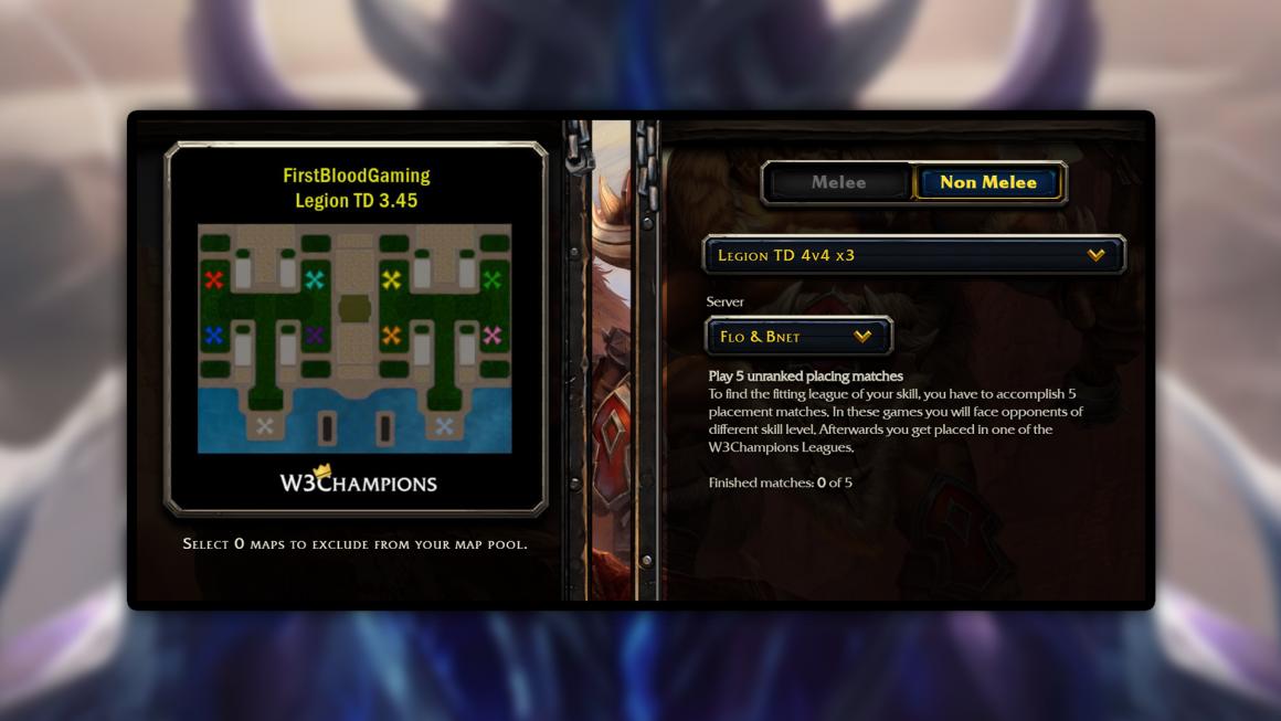 Warcraft 3 Reforged: Legion TD estreia com modo ranqueado na W3Champions
